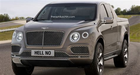 future bentley truck bentley truck study is of the quot hell no quot variety