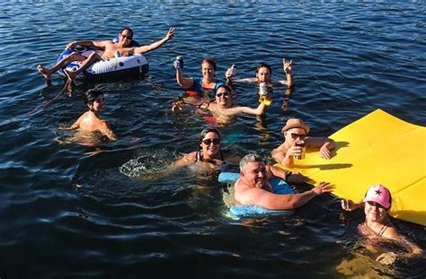 devils cove austin boat rental it s a party picture of piranha austin boat rentals