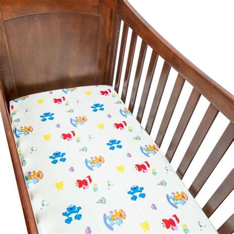 Sesame Crib Sheet sesame beginnings crib sheet for baby mattress