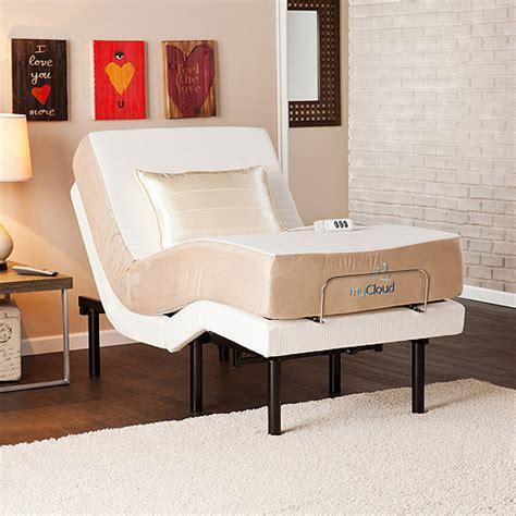 xl bed frame walmart mycloud adjustable bed frame xl walmart
