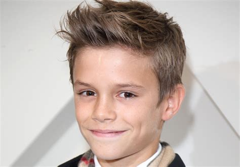 13 year old boy hairstyles 2015 david beckham s 12 year old son could be a tennis prodigy