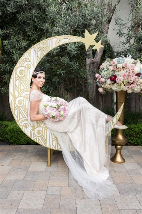 Gatsby Paper Moon Backdrop   Aisle Society