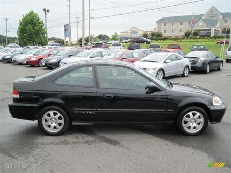 2000 Honda Civic Coupe by 2000 Flamenco Black Pearl Honda Civic Si Coupe 32898641
