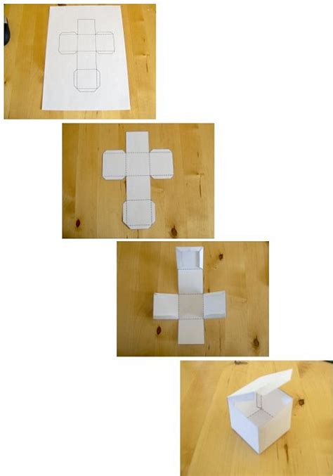 How To Make A Small Paper Box - crafts 2011