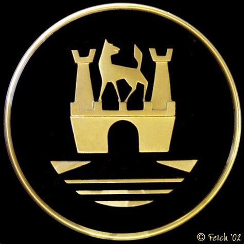 volkswagen wolfsburg emblem wolfsburg crest horn button 56 beetle logo badge