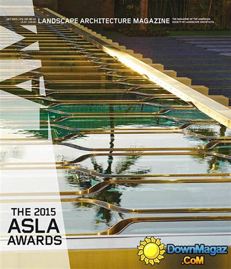 Landscape Architecture Usa Landscape Architecture Usa October 2015 187 Pdf