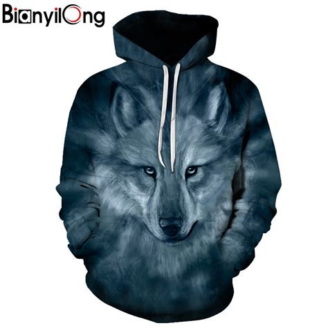 Hoddie 3d Wolf new wolf hoodies 3d sweatshirt hooded anime pullover quality brand hoodies harajuku printed