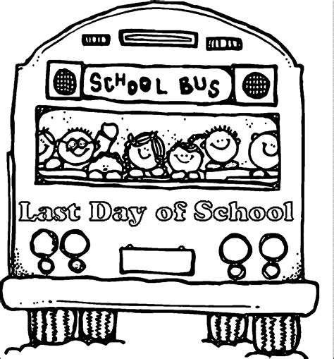 coloring pages end of school year last day of school coloring page coloring home