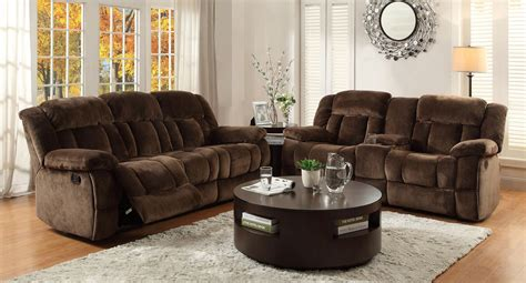 Reclining Living Room Furniture Sets Laurelton Reclining Living Room Set Chocolate Living Room Sets Living Room Furniture