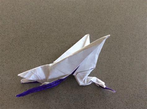Flapping Crane Origami - flapping crane origami yoda