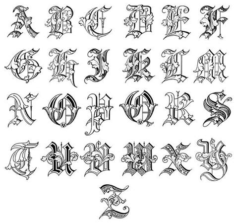tattoo fonts alphabet interesting lettering youngsimbayello