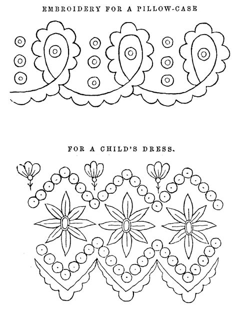 free embroidery templates digital st design free printable collage sheet 2