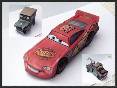 Paper Craft Car - cars papercraftsquare free papercraft page 2