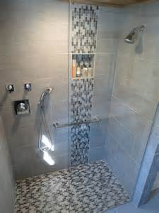 Grey Bathrooms Ideas 40 Grey Mosaic Bathroom Wall Tiles Ideas And Pictures Red