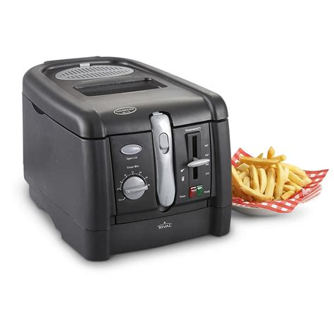rival kitchen appliances rival 174 cool touch deep fryer 158119 kitchen appliances