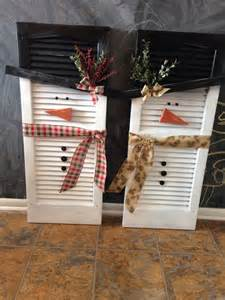 shutter snowman diy shutter diy snowman some of my creations pinterest shutters and