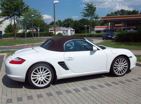 Porsche Boxter Cabrio by Porsche Boxter Cabrio In Wei 223 Gesehen In Marl 28 07 2010