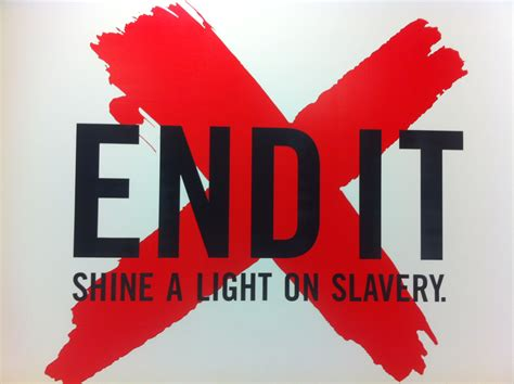 Xs On Movement To End Modern Slavery Time End It So Created