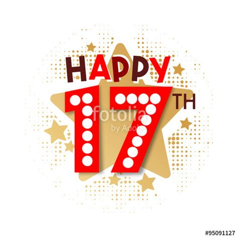 happy 17th birthday images quot happy 17th birthday quot stock image and royalty free vector