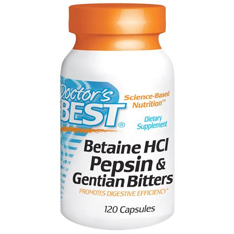Which Is The Besy Hcl Detox Kit by Doctor S Best Betaine Hcl Pepsin Gentian Bitters 120
