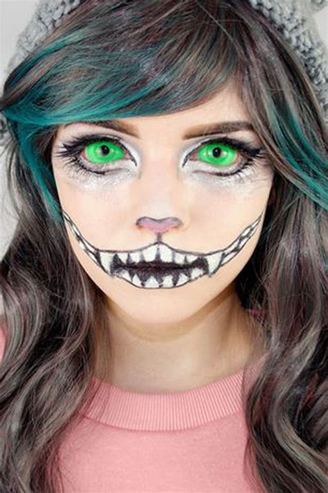 cat makeup tutorial cheshire cat makeup tutorial cheshire cat halloween