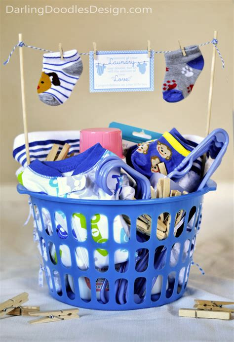 Handmade Baby Gift Baskets - loads of and laundry doodles