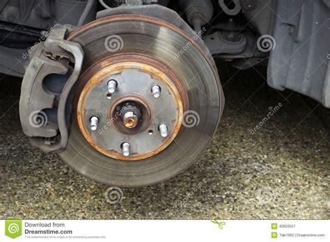 repairing brakes on car stock photo image 40933557