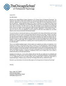 Behavioral Psychologist Cover Letter by Applied Behavior Analysis Department Welcome Letter The Chicago Sch