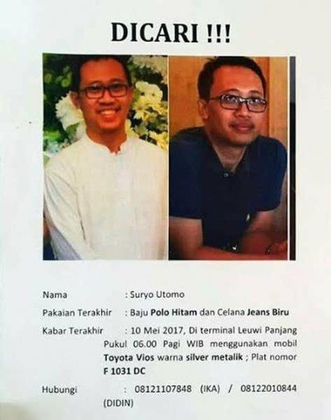 email dosen itb dosen itb ditemukan tewas di waduk cirata utusan indo