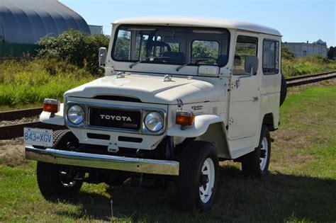 1980s Toyota Land Cruiser Toyota Land Cruiser Bj41 1980 Diesel B Land Cruiser Of