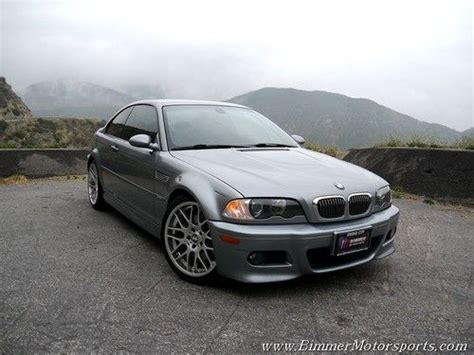 buy used 2004 bmw e46 m3 coupe manual 6 speed silver gray perfect condition california in