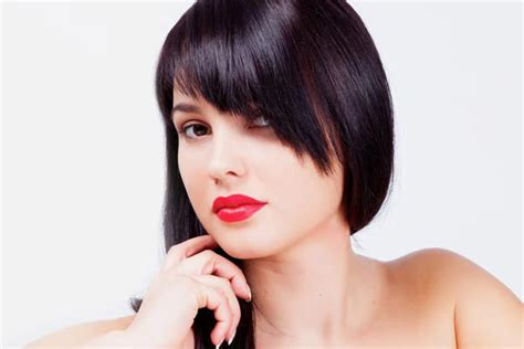 Hair Styles With Slanted Fringes | hairstyles for women 2015 hairstyle stars