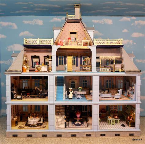 mansion homes blue mansion emma j s playmobil