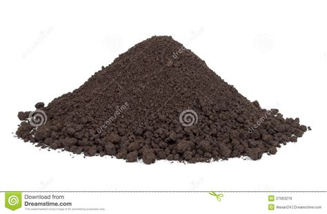 Pile Of Soil Royalty Free Stock Photos   Image: 27063218