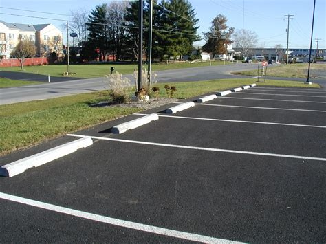 Parking Lot Car concrete parking blocks concrete parking lot stops bumpers