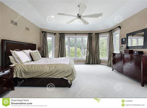 master bedroom windows master bedroom with wall of windows royalty free stock