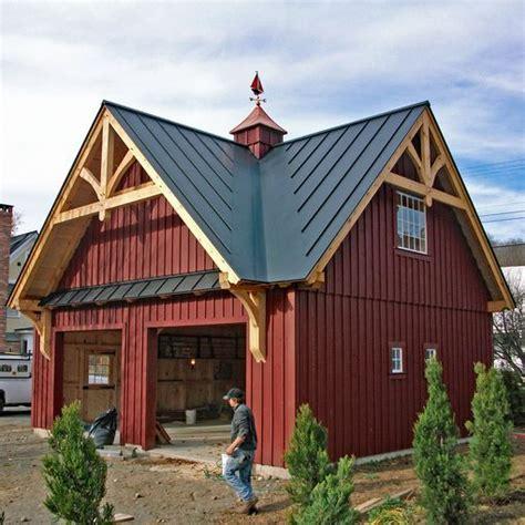 post beam garages custom barns  buildings