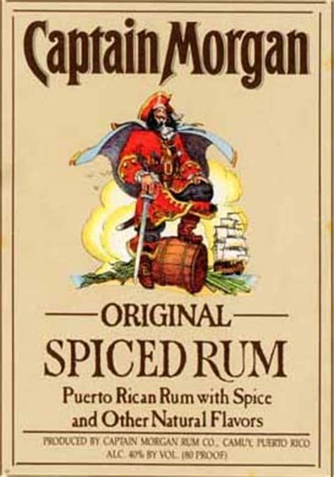 Southern Comfort 100 Proof Australia by Captain Original Spiced Rum Rye Brook Wine Spirit