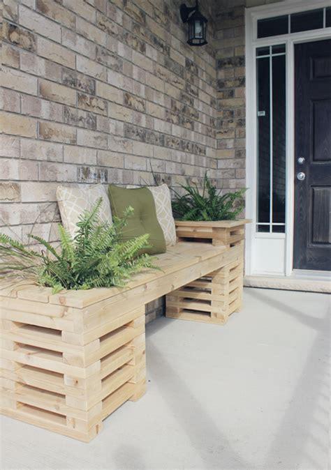 diy patio planter bench how to diy cedar bench with planter frames www fabartdiy