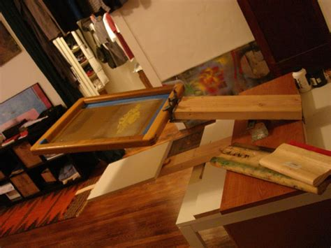 the new s screen printing press diy tutorial