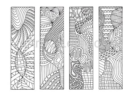 printable coloring pages zentangle diy zentangle inspired bookmarks zendoodle printable
