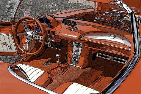 Corvette C1 Interior corvette c1 interior digital by m powell