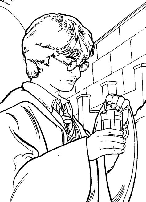 Printable Coloring Pages Harry Potter | harry potter printable coloring sheets coloring pages