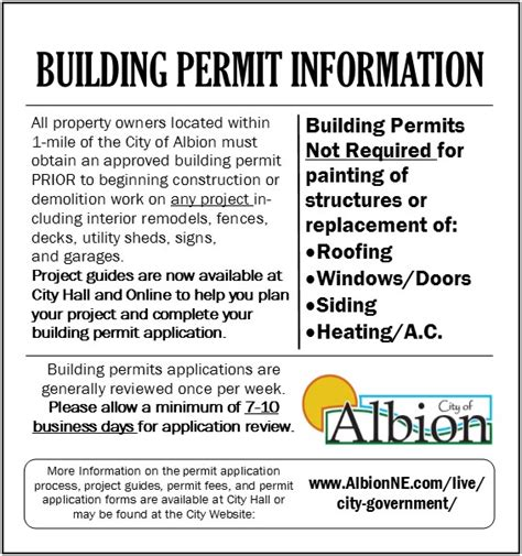 City Of Building Permit Search By Address Albion Economic Development 187 2017 City Of Albion Building