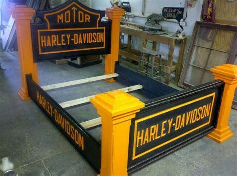 harley davidson bed bed frame kool harley davidsonthings 2 luv