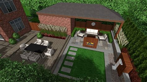 Green Apple Landscape Design Eclectic Modern Backyard Landscape Design Yelp