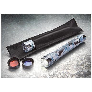 colored flashlight 2 pk of polar camo led flashlights with 2 colored lenses