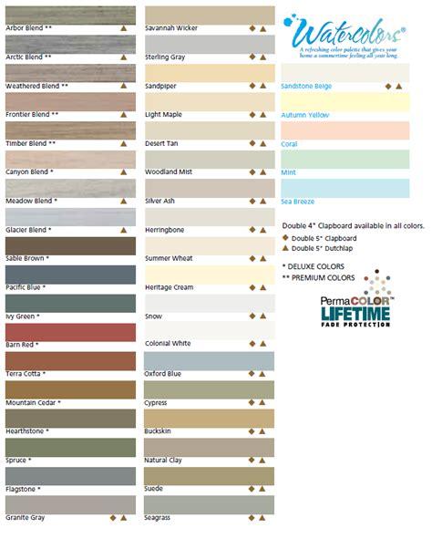 certainteed siding colors certainteed vinyl siding color chart certainteed pacific