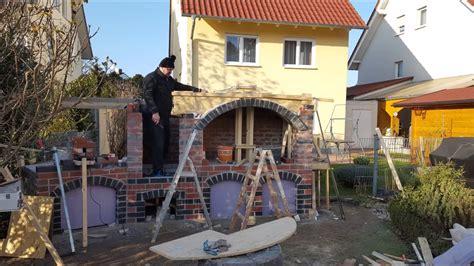 Pavillon 8 Eckig Selber Bauen by Pizzaofen Grill Selber Bauen Pravljenje Rostilja