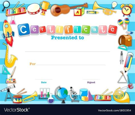 moving up certificate templates free certificate templates for kindergarten gallery